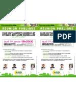 Réunion publique sur la mobilité marseillaise - Ecomotive