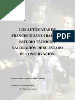 Expósito, I. Autómatas de Fco. Sanz i Baldoví. 2010