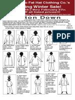 Fat Hat Sale Flyer 2012