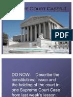 32a-Supreme Court Cases II
