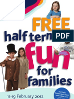 February Half Term 2012 Family Fun Flyer