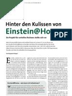 Hinter den Kulissen von Einstein@Home