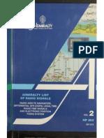 Admirality List of Radio Signals (Vol 2)