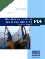 Manual de evaluación de riesgos para la prevención de TME