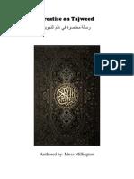 Tajweed - Tuhfatul Ghilmaan - Translation