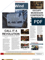 Occupy Muskegon Newsletter Vol. 1 No. 1