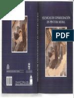 Moreno, Mª A. Consolidación revestimientos murales arq. 1998