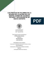 Soriano, P. Aplicación nuevo soporte frescos Palomino. 2005