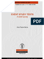 Tests Event Study