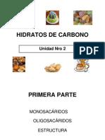 Hidratos de Carbono - Estructura Quimica y Reacciones