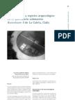 Zambrano, L.C. y Bethencourt, M. Conservación y registro en yacimiento submarino Bucentaure de Cádiz. 2001