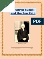 Shunryu Suzuki - The Zen Path and People