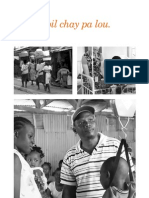 Konbit Sante Brochure, in French