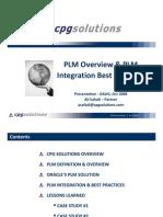 20081017 - PLM Integration Overview