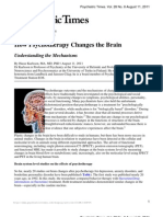 How Psychotherapy Changes the Brain