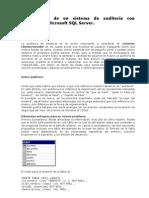 Construcción Sistema de Auditoria con Triggers en SQL Server