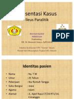 Presentasi Kasus_Pny Leni_ileus Paralitik