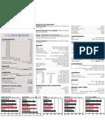 A4 Technical Data
