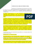 Conceptos básicos del análisis transaccional