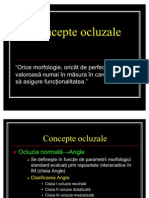 Curs 3.1 Concepte Ocluzale