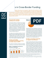 Trends in Cross-Border Funding