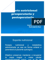 soporte nutricional perioperatorio