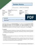 FIN - Naturezas Financeiras - SPED PIS COFINS