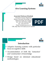 Adaptative Learning