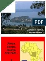 AFRICA. CONGO. GUERRA. COLTAN Y TU MÓVIL.