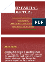 Fixed Partial Denture 1