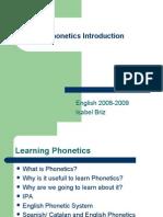 Phonetics Introduction