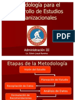 Metodologia de Estudios Organizacionales (3)