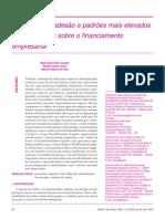 O impacto da adesão a padrões mais elevados de governança sobre o financiamento empresarial