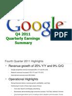 2011Q4 Google Earnings Slides