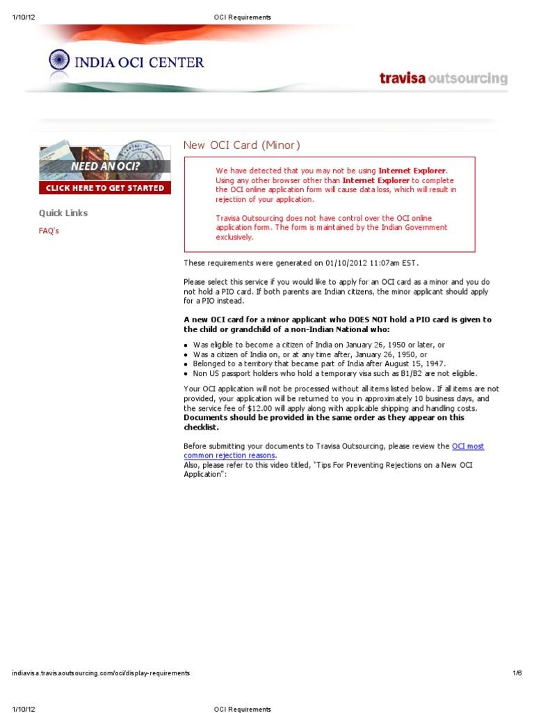 Oci Requirements Kids Birth Certificate Naturalization