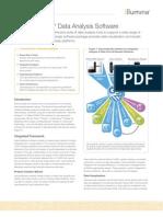 Datasheet Genome Studio Software