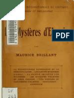 Les mystères de Eleusis ([c1920])
