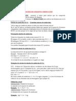 PROCESO DE OXIGENO Y REDUCCIÒN
