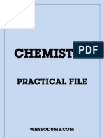 Chemistry Practical Book For Class 11 Cbse