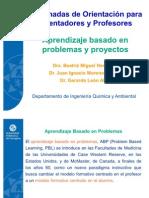Aprendizaje Problemas y Proyectos