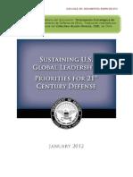 Orientación Estratégica de Defensa EEUU 2012, transcripción al castellano