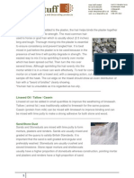 Plaster Additives