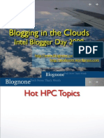 Blogging in the Cloud
