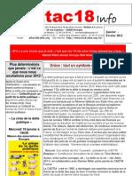 Attac18 Info 2012.Janvier-Fév