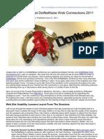 003 - Usability Geek - Website Usability at Dot Net Nuke Web Connections 2011