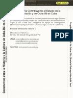 Bibliografia de Osha-Ifa