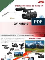 GY-HMQ10 Presentación de la nueva camcorder 4K de JVC