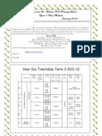 Yr6P CB Term 3 2011-12