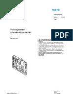 185865 Vacuum Generator CPV VI70