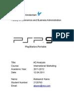 AD Analysis by Aleksandr Karev